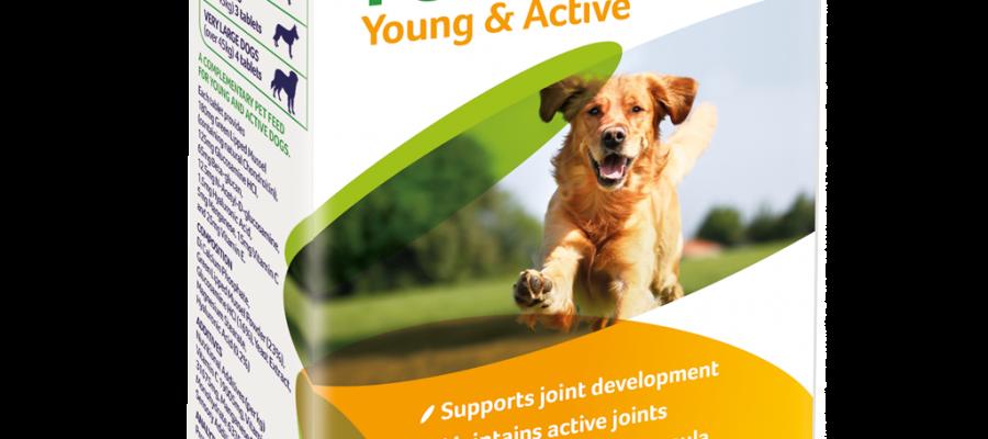 YuMOVE Young and Active tabletta – Ízületekre fiatal kutyáknak