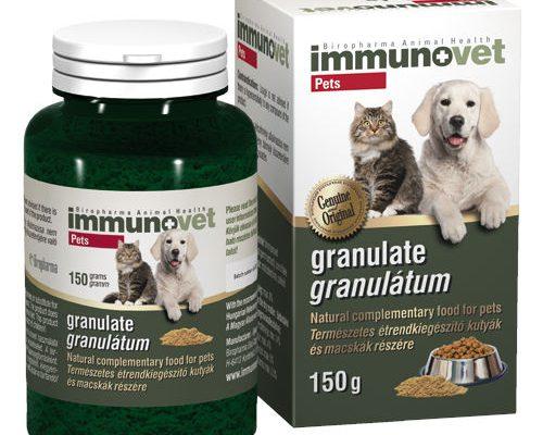 Immunovet granulátum – Immunerősítő kutyáknak és cicáknak